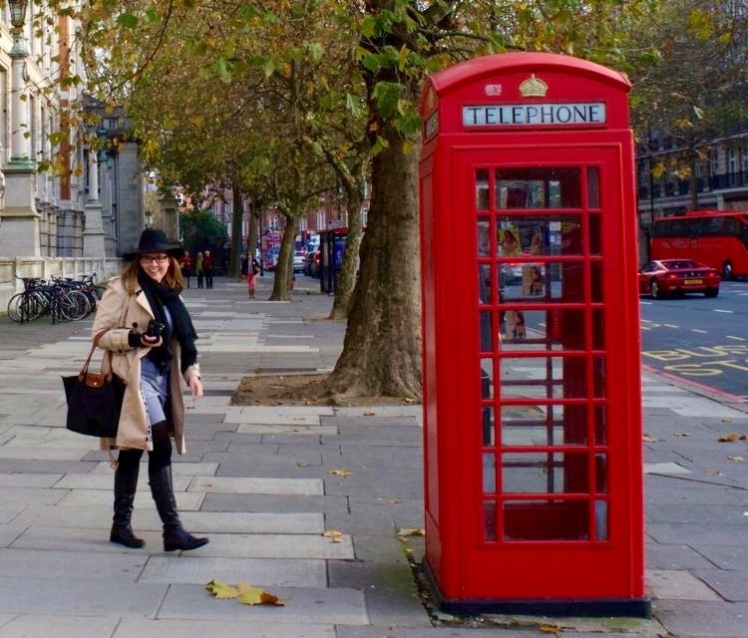 Bonjour Olive - London, November 2015.