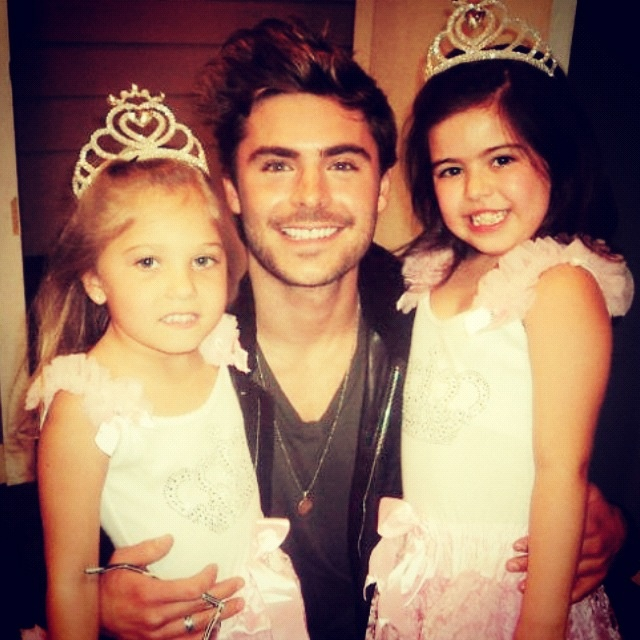 Zac and Sophia Grace and Rosie